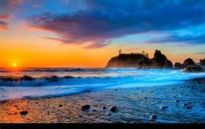 Beach Sunset Wallpaper Free Download #2342 Wallpaper ...