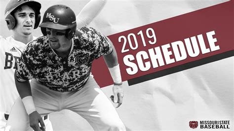 2021 kevin miller tournament sponsored by visit panama city beach (full schedule) 4. Missouri State releases 2019 Schedule - College Baseball Daily