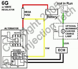 fuel injection technical library alternator files With 1965 ford alternator wiring diagram on panasonic amp wiring diagram