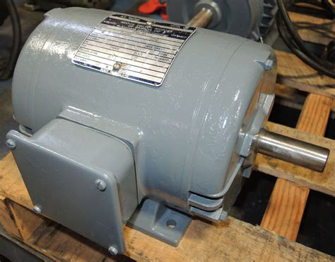 1 Hp Electric Motor by Brook Electric Motor 1 5 Hp Ac Motor 575 Volt Frame