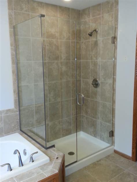Shower In - shower doors des moines sassman glass and mirror