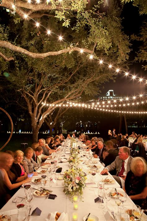 elegant outdoor wedding reception elizabeth anne designs