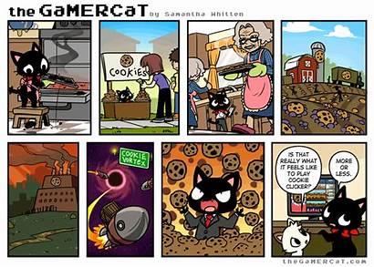 Gamercat Cookie Comic Clicker Gamer Cat Comics