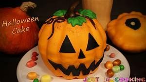 Gateau D Halloween : g teau citrouille d 39 halloween fa on pi ata cake pumpkin cake 3d youtube ~ Melissatoandfro.com Idées de Décoration