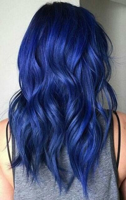 Coloring Hair Blue by Berina Hair Colour Permanent Hair Dye 47 Colors A41