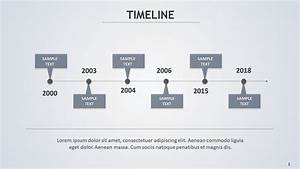 Timeline  U2013 Slide Ocean