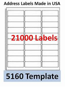 21000 laser ink jet labels 30up address compatible with With microsoft word label templates avery 5160