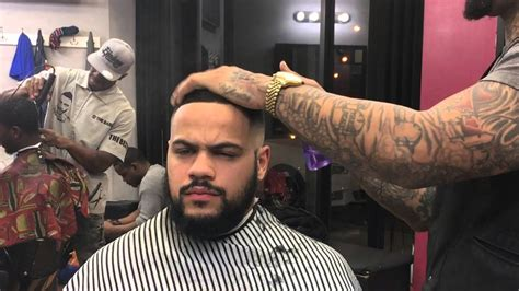 comb  tutorial  hard part skin faded sides