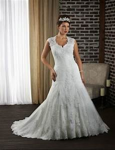rainingblossoms 2014 new plus size wedding gowns in With lace wedding dress plus size