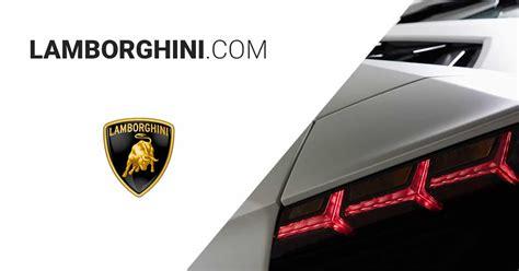 automobili lamborghini web oficial lamborghinicom