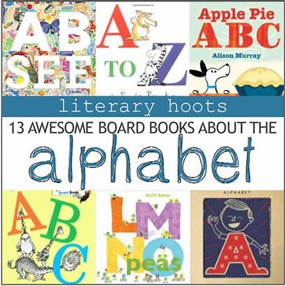 Books Alphabet Board