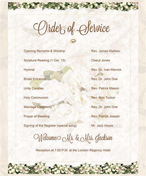 wedding order template   word  psd vector