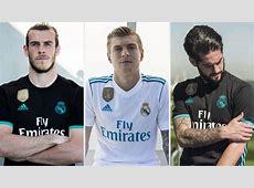 New football kits 201718 Real Madrid, Juventus