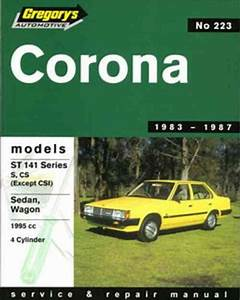 Toyota Corona St 141 1983 1987 Gregorys Service Repair