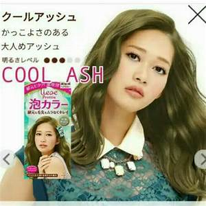 Liese Prettia Bubble Hair Color Japan Color Cool Ash