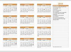 2018 Sikh Festivals Calendar Template Free Printable