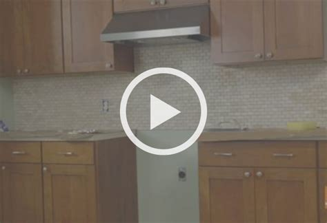 how to install a kitchen backsplash at the home depot