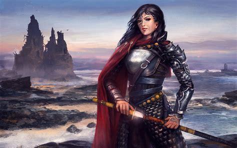 Women Warrior HD Wallpaper | Background Image | 1920x1200 ...