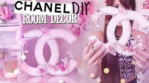 diy room decor chanel logo springsummer youtube