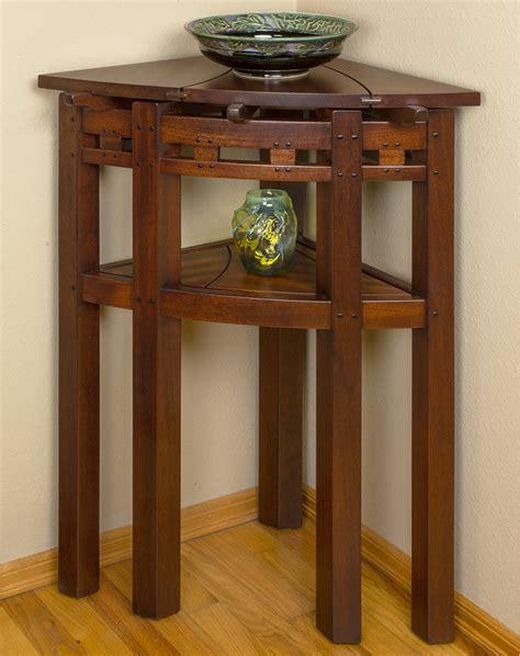 tall corner table darrell peart furnituremaker