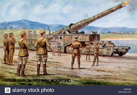 gan siege war 1 railway mounted artillery gun siege