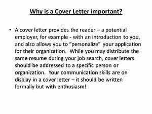 how important is a cover letter is cover letter With how important are cover letters