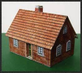 build a house free new paper craft a spreewald wooden house free building paper model on