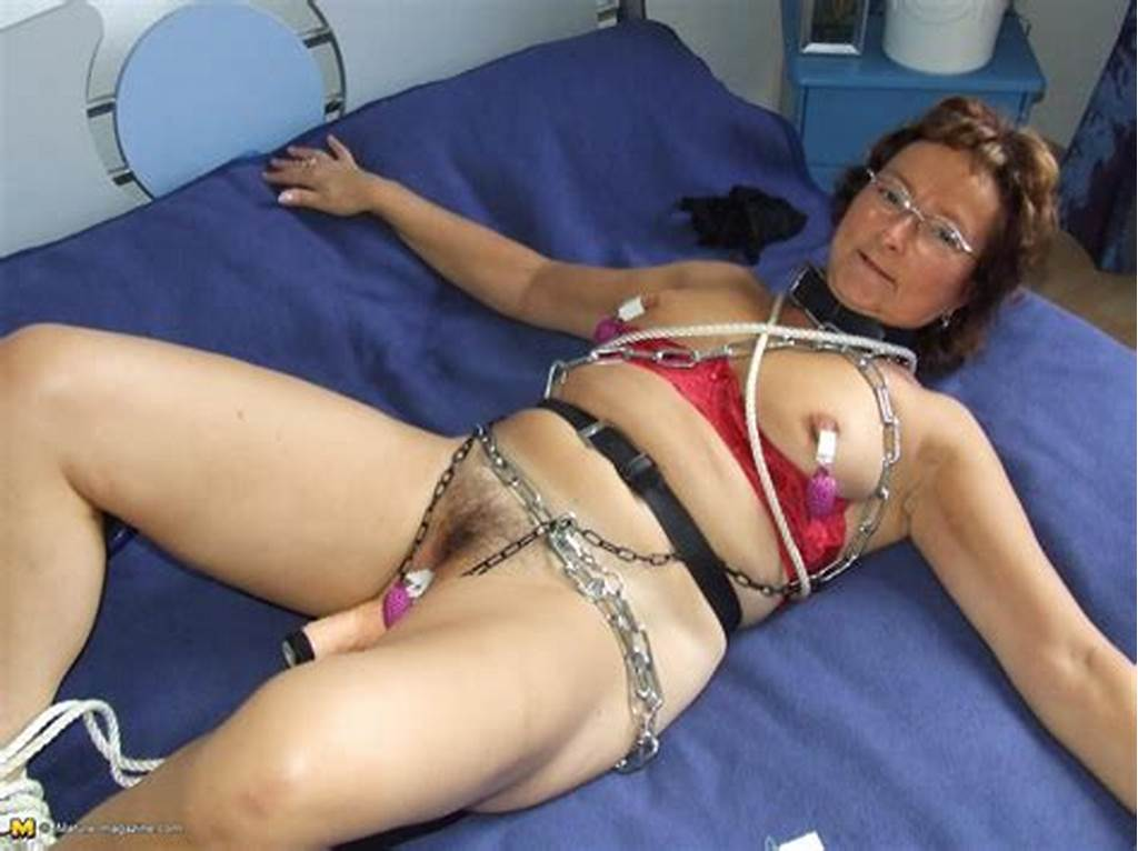 #Kinky #Mature #Gabriele #Loves #To #Be #Tied #Up
