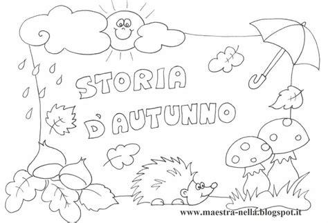 disegni estate da colorare e stare maestra maestra nella storia d autunno idea autunno da colorare