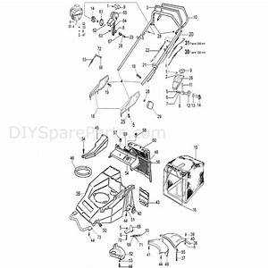 Efco Mr 53 Tbvi B U0026s Lawnmower  2008  Parts Diagram  Page 1