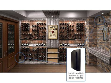 Remote Temperature Sensors For Wine Cellars