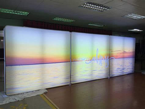 light box led display led lightbox completely portable for tradeshows free