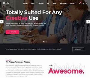 agency pitch template - 30 the most creative wordpress themes of 2017