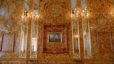 la chambre d ambre chambre d 39 ambre pétersbourg russie hd stock