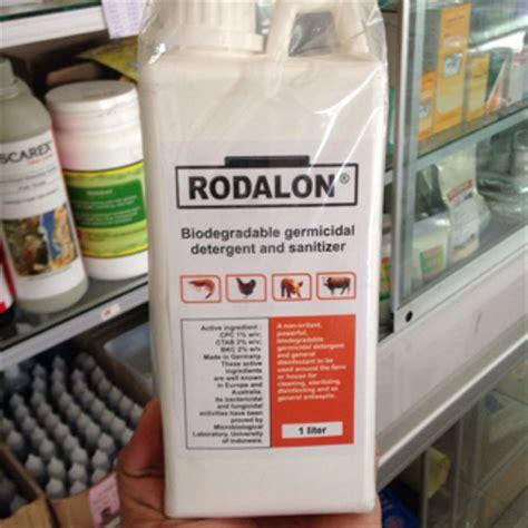 Rodalon Antiseptik 1 Ltr jual rodalon 1 liter antiseptik dan disinfektan aman di