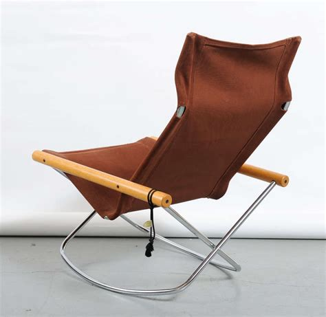 Folding Rocking C Chairs by Takeshi Nii Quot Ny Quot Folding Rocking Chair At 1stdibs