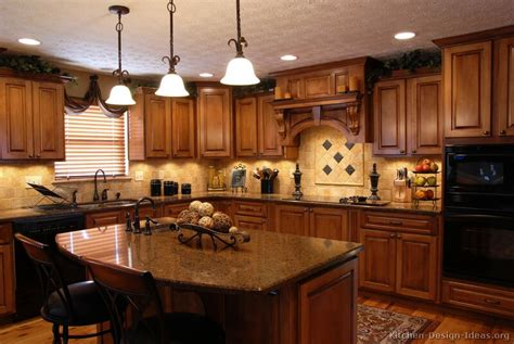 Pictures of Kitchens   Traditional   Medium Wood Cabinets, Golden Brown