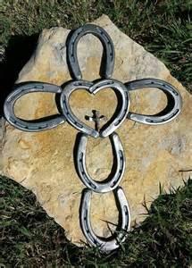 Project Welding Horseshoe Cross