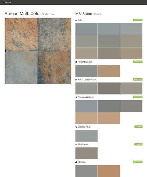 multi color slate tile flooring msi behr
