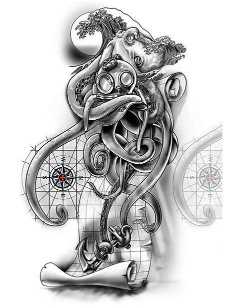 ¾ Sleeve Nautical Cover-Up Design | Tattoos | Compass, map tattoo, Map tattoos, Tatoo designs