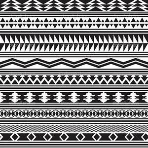 Black And White Tribal Print Pattern | www.pixshark.com ...