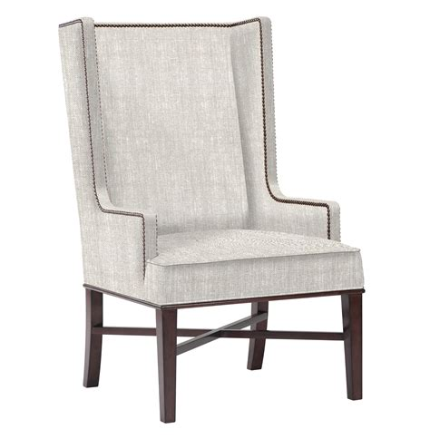 jacqueline hostess wing  occasional dining arm chair