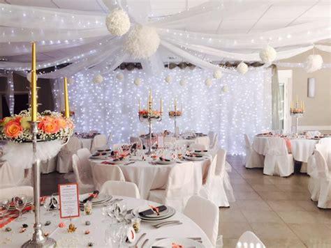 decoration mariage corail