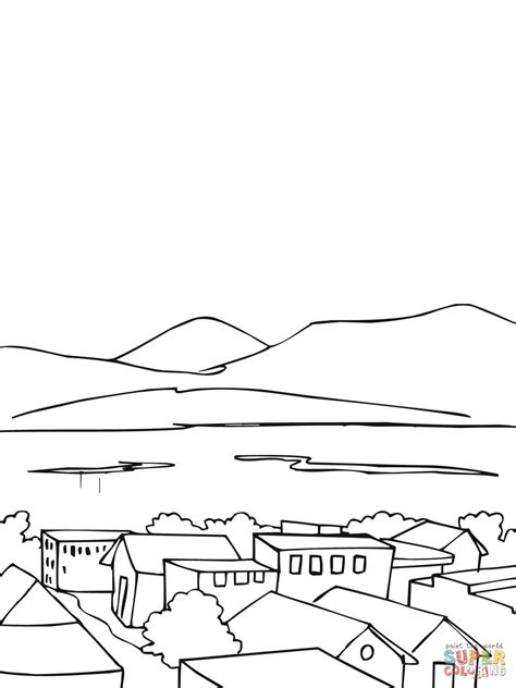 Norway Free Colouring Pages