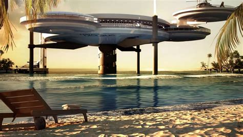 Awesome Underwater Hotel In Dubai The Water Discus by The Water Discus Hotel Submerged Accomodations