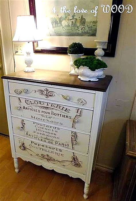 fabulous french typography dresser  graphics fairy