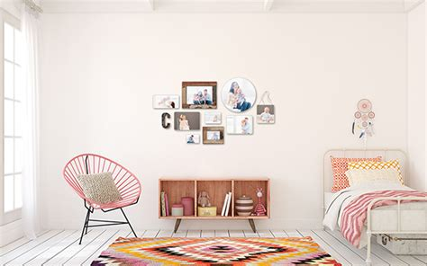 photoblocks  wall display guides virtual room scenes