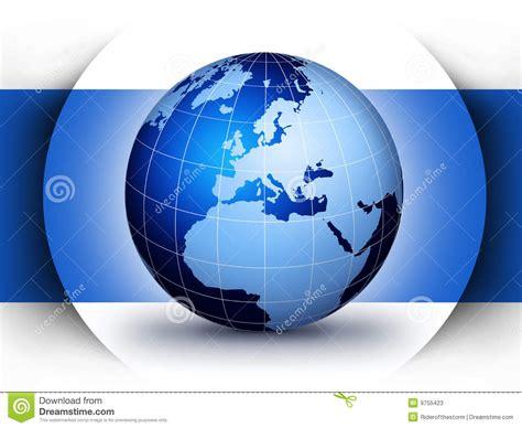 world globe design concept stock  image