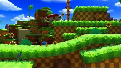 Sonic Forces Hill Zone Chemical Jump Plant