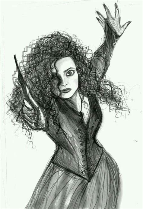 bellatrix lestrange harry potter pinterest zeichnen